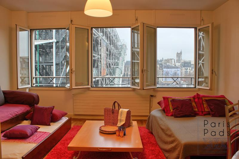 Pompidou view - Pompidou Gem GREAT LOCATION GREAT VALUE - 3rd Arrondissement Temple - rentals