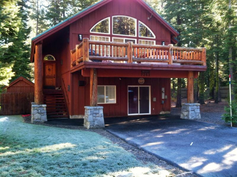 Outside - West Shore Pets OK-Hot Tub w/ Game Room-SKI LEASE - Tahoma - rentals