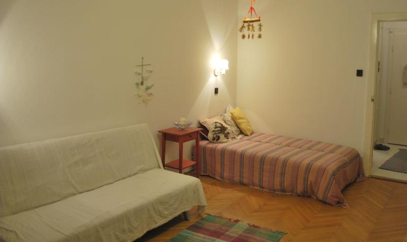 Spacious living room 1 - 1-bedroom apartment with panoramic views - Budapest - rentals