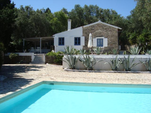 House View from the Pool - Koukla House, Paxos villa with pool and sea view - Paxos - rentals