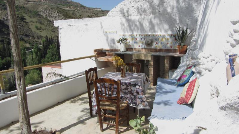 Terrace with panoramic views - Lovely Cave House, Granada. - Monachil - rentals