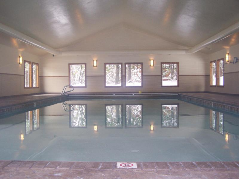 Indoor Pool - Modern Mountain Loft, Whitefish, Montana - Whitefish - rentals