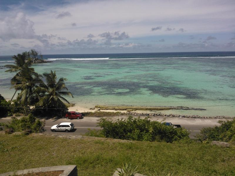 Balcony View - 2 bedroom Guest house 30 seconds to the beach - Mahe Island - rentals