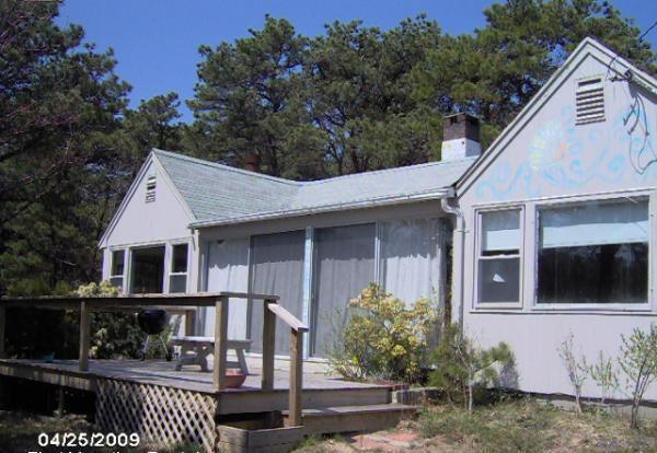 front view main cottage - 2 acres Mayo Beach Guest Cottage included - Wellfleet - rentals