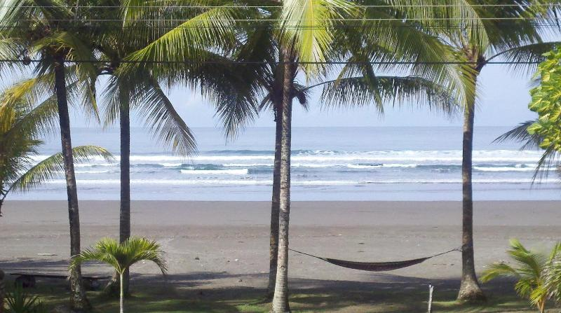 view from front of house - Paradise Found Beach Front in Costa Rica - Puntarenas - rentals