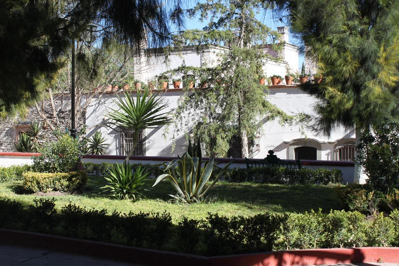 On the Jardin, the front of the B&B - Dos Suites Elegant B&B on the Jardin and Lap Pool - Mineral de Pozos - rentals