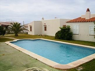 Lovely pool area - Cana Sally - Punta Prima Es - rentals