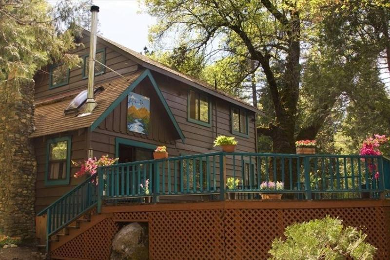 trout house Front - Spinning Wheel Yosemite - THE TROUT HOUSE - Groveland - rentals
