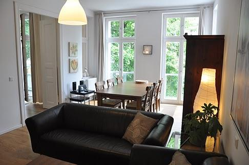 Apartment living room - Lovely apartment centrally located in Berlin - Berlin - rentals