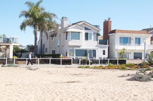 House from beach - Luxurious Home on the Sand, Balboa Peninsula, CA! - Newport Beach - rentals