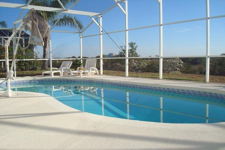 Stunning Views of Scenery from Pool Area - Disney World Area, Views of Natural Florida Beauty - Davenport - rentals