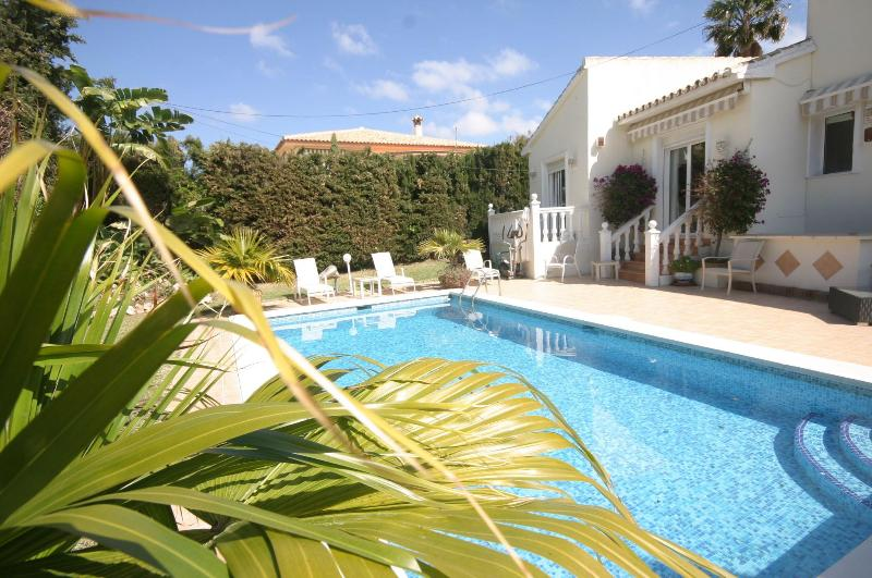 pool area - Private Villa with own Pool, 150 mtrs from Beach - Malaga - rentals