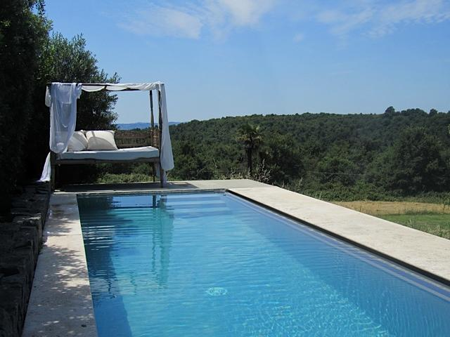 Infinity pool - Boutique condo with infinity pool overlooking lake - Trevignano Romano - rentals
