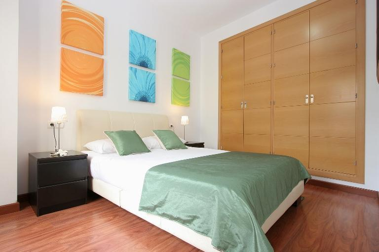 Large Master bedroom  - Lovely 1 bed apartment with private roof terrace - Jerez De La Frontera - rentals