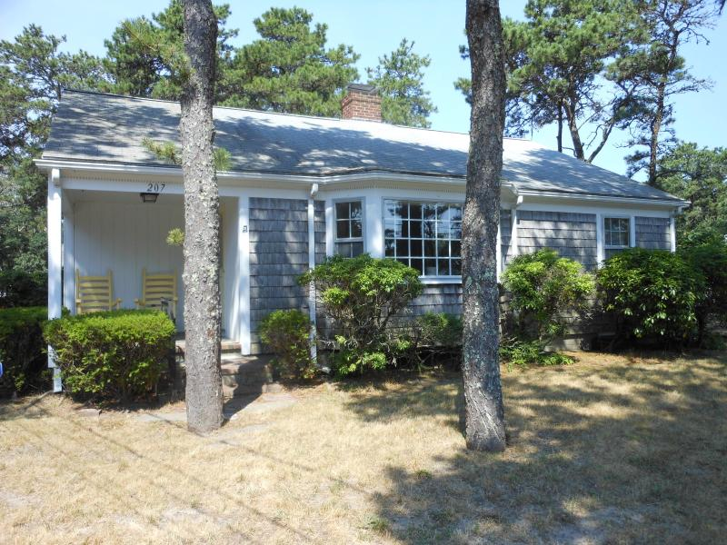 Front view of Cottage  - Charming, Cozy and Spacious Beach Cottage Complete w/ Bikes - Sweet Retreat! - Dennis Port - rentals