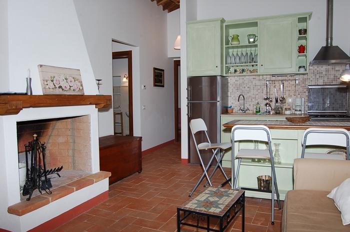 living room/kitchen - Charming 2 bedroom apartment with amazing views - San Gusme - rentals