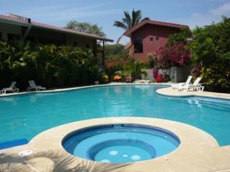 The pool - Long Term - Casa Silver Aces -10 min walk to beach - Nosara - rentals