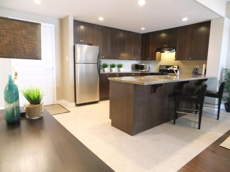 Large spacious kitchen - 2 Bedroom plus 2 Bath Condo in Central Burlington - Burlington - rentals