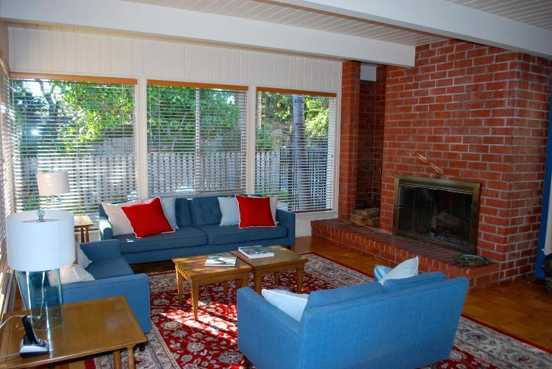 Sunny living room with lots of room! - Bring the whole family - Rincon Beach! - Carpinteria - rentals