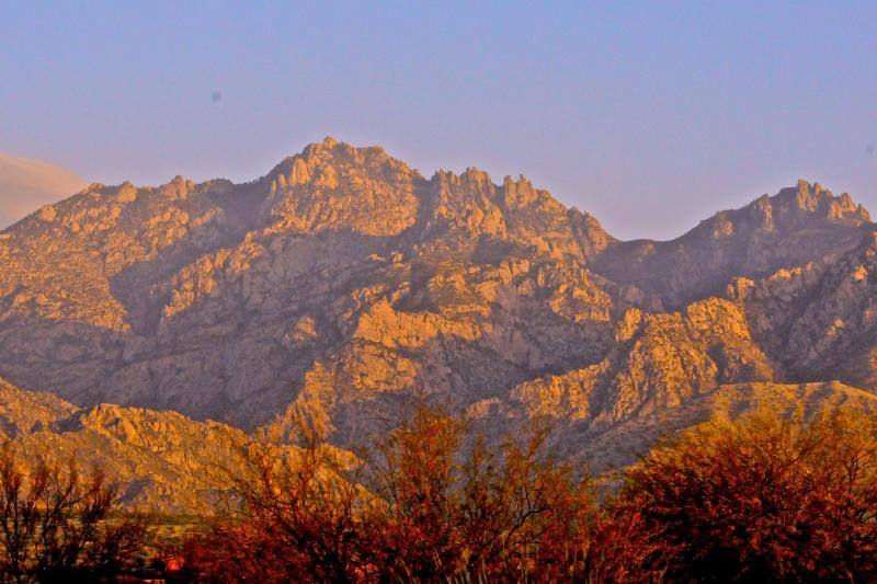 Enchanting evening colors from the living room, dining, kitchen and master suite - Spectacular Views! - Oro Valley - rentals