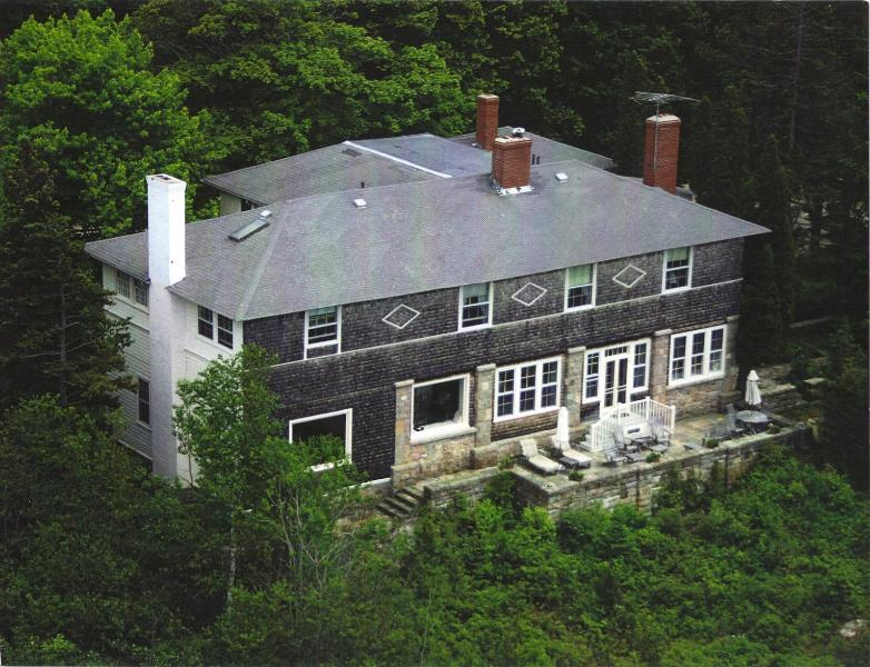 Arial View - Seaview a Victorian Cottage on Frenchman's Bay - Winter Harbor - rentals