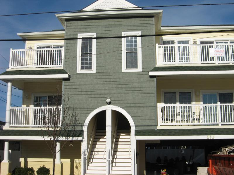 Condo front - Fabulous & Affordable 1 1/2 blocks to Beach/Boards - Wildwood - rentals