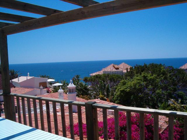 View from the deck - Villa Miramar - Great sea views, close to beach - Albufeira - rentals