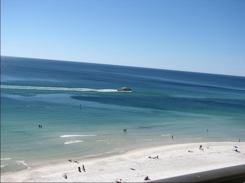 Your Private Balcony Gulf Front View - Panama City Beach Gulf Front Sunbird Condo Florida - Panama City Beach - rentals