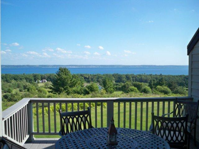 View from Balcony - Harbor Springs Paradise - Harbor Springs - rentals