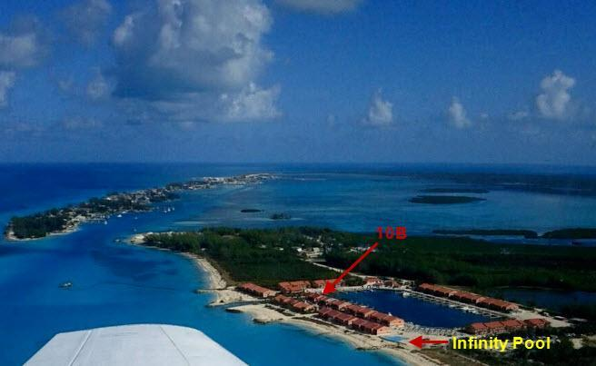 Aerial of Bimini Sands Resort and 10B - Bahamas Luxury Condo on Marina, Steps from Beach - Alice Town - rentals