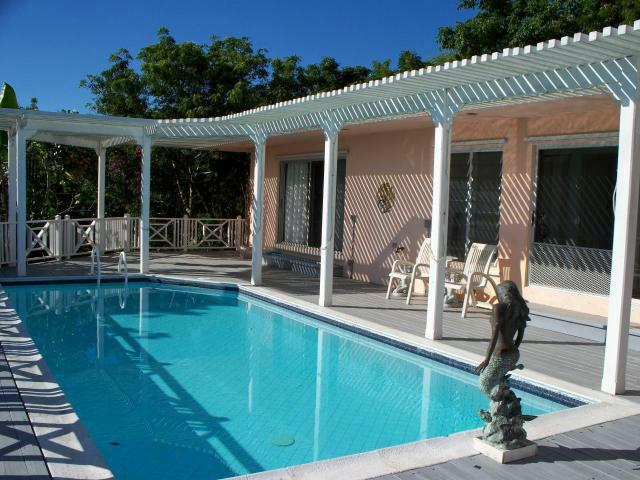 Pool with Shady Pergola - Listen to the Windsong! 3/3 with Private Pool - Christiansted - rentals