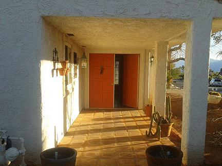 Main entrance - Desert Hot Springs, California, Home - Desert Hot Springs - rentals
