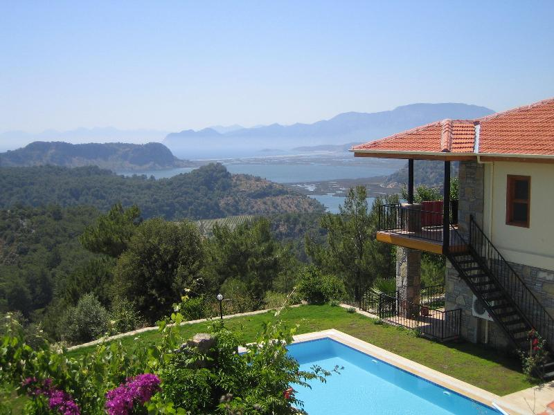 The view and Cicek - Cicek Evi a luxury villa with views to die for - Dalyan - rentals