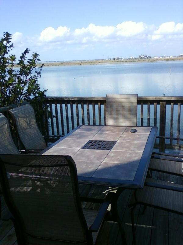 VIEW, VIEW, VIEW from my condo's deck - VIEW, VIEW, VIEW and GREAT FISHING TOO! - Corpus Christi - rentals