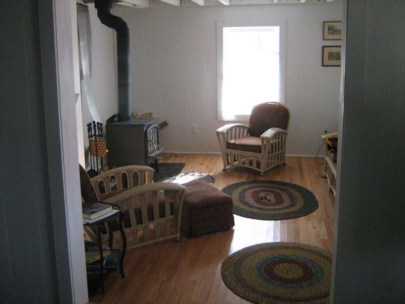 Charming Living Room with Woodstove - Carlisle Hill Farmhouse - New Listing! - Goshen - rentals