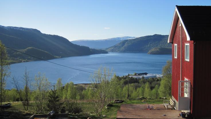 Fjord view - Farm House with Fjord View - Valsoybotn - rentals