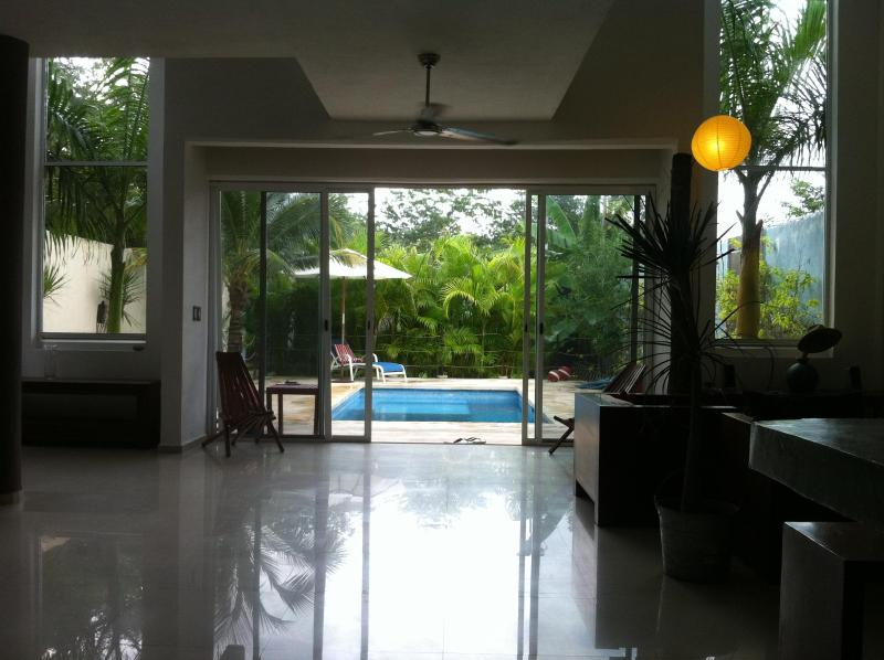 Casa Blanca, private swimming pool, Tulum town - Image 1 - Tulum - rentals