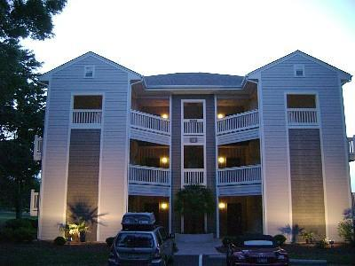 Front View of Condo - Golf & Beach Rental in Sea Trail Resort - Sunset Beach - rentals