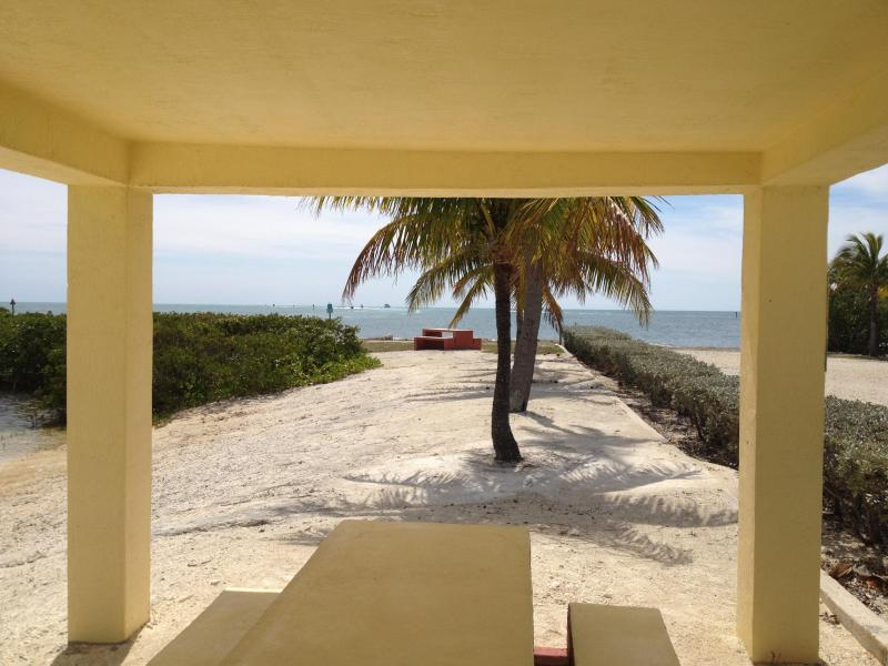 Picnic area in private park close by - Brand-new unit in tropical garden w/ocean access - Key Largo - rentals