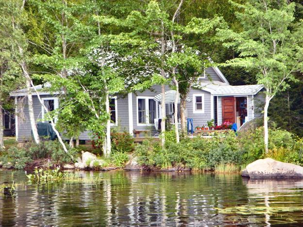 Camp from water - Classic Maine Cottage - Ellsworth - rentals