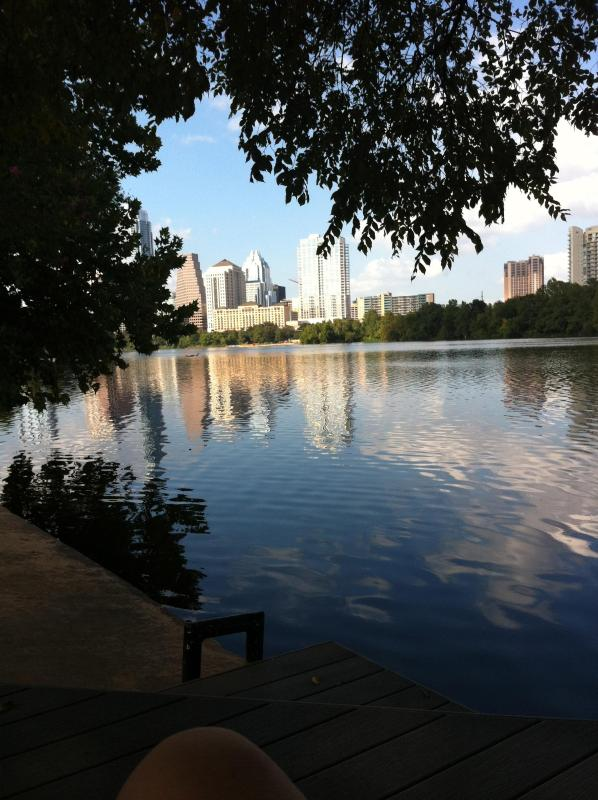 View from the dock - Modern Studio on Town Lake...Walk to Downtown/SOCO - Austin - rentals