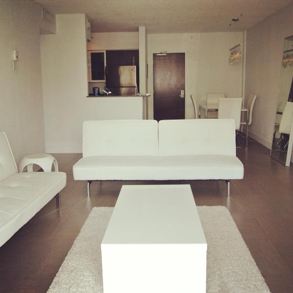 Living room - Contemporary Apartment in South Beach!! - Miami Beach - rentals