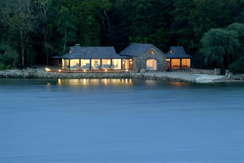 The Boat House at night - The Boat House @ Inish Beg Estate - Baltimore - rentals