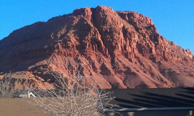 View from the patio - Red Mountain Paradise Private Home - POOL - PETS - Saint George - rentals