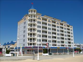 Exterior - Belmont Towers 410 (Side) 101648 - Ocean City - rentals