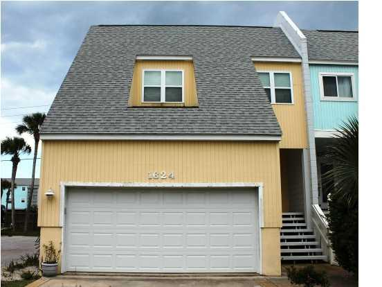 Front of unit - 1624 Bulevar Menor  3BR/2.5 Bath Townhouse - Pensacola Beach - rentals