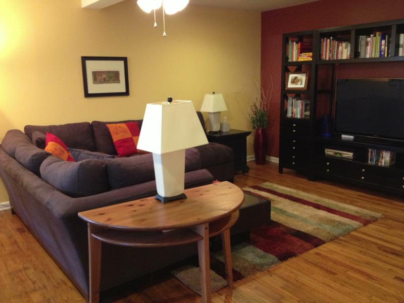 Side A - Living room - Gorgeous 5 BR/4 BA Duplex in South Austin! - Austin - rentals