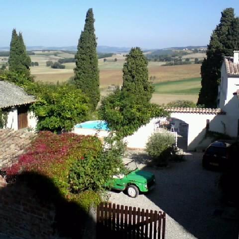 Courtyard - Holiday home La Cima - Aude - rentals