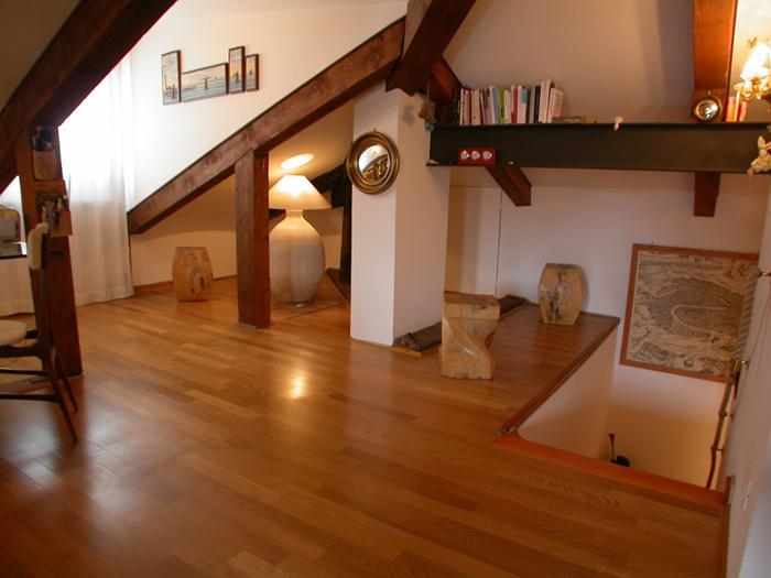 stair entrance - Charming loft on the roof  in San Giacomo, Venice - Venice - rentals