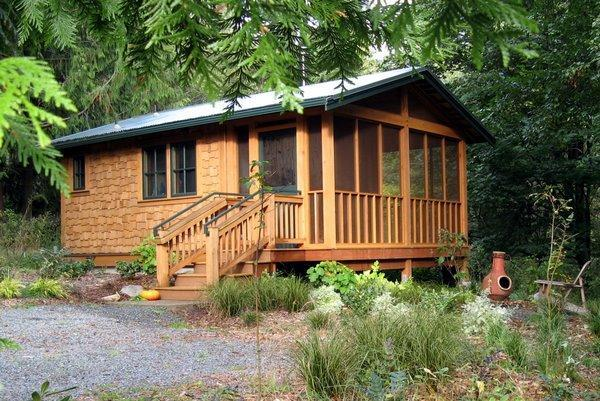 The Foxglove Cabin at the Writer's Refuge - The Foxglove Cabin at the Writer's Refuge - Langley - rentals